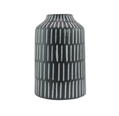 《halla malmo》Snömonster 裝飾陶瓷花瓶-高(HPLX0241CW2)