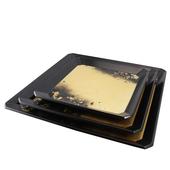 《SCENEAST》黑金漆器-12層無毒漆方托盤(中-T009-2-D5)