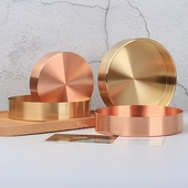 《halla malmo》極簡金屬圓型收納盤-10cm(黃銅)