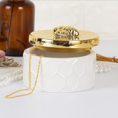 《halla malmo》蜜蜂陶瓷收納盒(大)
