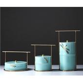 《SCENEAST》蜻蜓彩瓷儲物盒