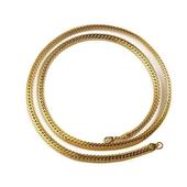 蛇骨造型金項鍊