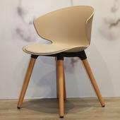 《halla malmo》Nido Chair- 巢單椅(米棕/灰白色)