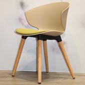 《halla malmo》Nido Chair- 巢單椅(米棕/芥末綠)