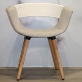 《halla malmo》HUG Chair 造型椅(白/灰)