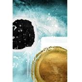 《晶瓷畫》水彩風 30HTJC00035-C(50X70X3.5cm)