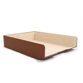《Novella Amante》A4單層文件盒(杏褐色)