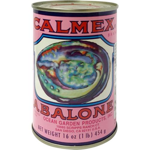 《車輪牌》墨西哥頂級鮑魚罐頭-1粒半裝/罐(454g)