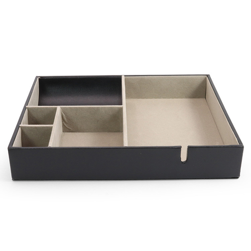 《Novella Amante》桌面收納盒(風尚黑)