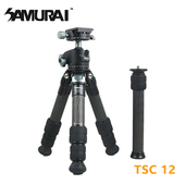 《SAMURAI》TSC 12碳纖維短腳架(腳管25mm)