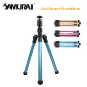 《SAMURAI》Outdoor Rainbow 反折旅遊型腳架(粉)