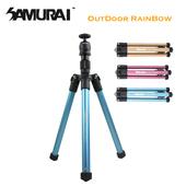 《SAMURAI》Outdoor Rainbow 反折旅遊型腳架(金)