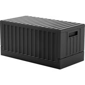 《CARGO》貨櫃收納椅 FB-6432B(黑 展開:640W*320D*300H)