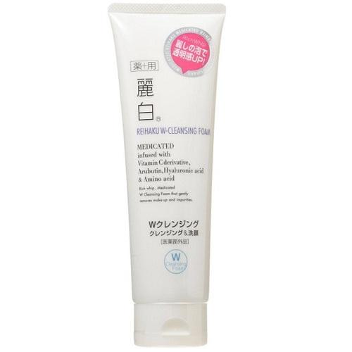 《日本熊野》油脂麗白2合1洗面乳(190g/條)