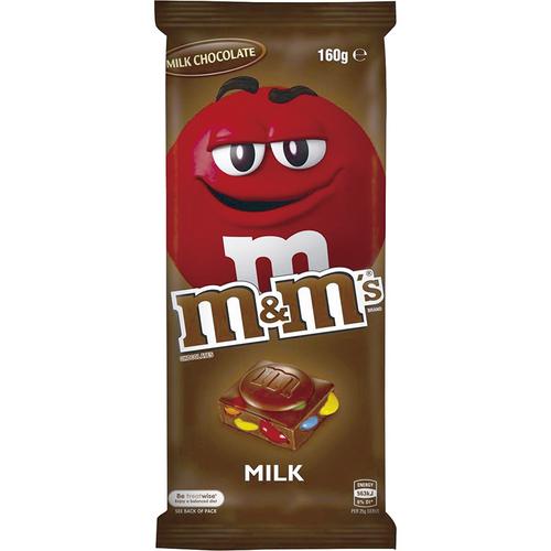 《M&M's》精選片裝牛奶巧克力(160g)