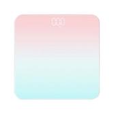 藍牙智能體重計-26X26X2cm(粉色)
