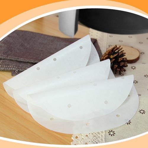 氣炸鍋專用烘焙紙400張(直徑18.7cm)