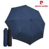 【Kasan晴雨傘】簡約手開防潑水三折傘(紳士藍)