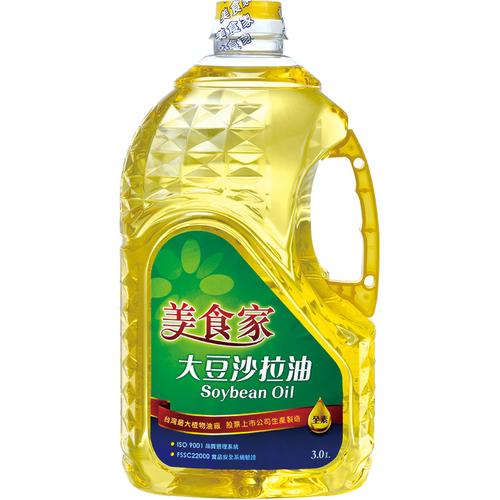 《美食家》大豆沙拉油(3L/罐)