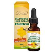 《Lovita 愛維他》蜂膠滴液 18%生物類黃酮 (30ml/瓶)(1瓶)買就送:長效C隨身包(3天份)