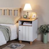 《C&B》古木調客廳床頭櫃路由器收納櫃