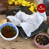 《台南莊記》黃金三角黑豆茶(300g/包)(5包)