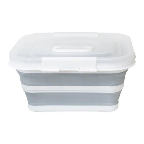 可折疊便攜收納箱(展開47X30.5X23cm 摺疊47X30.5X5cm)