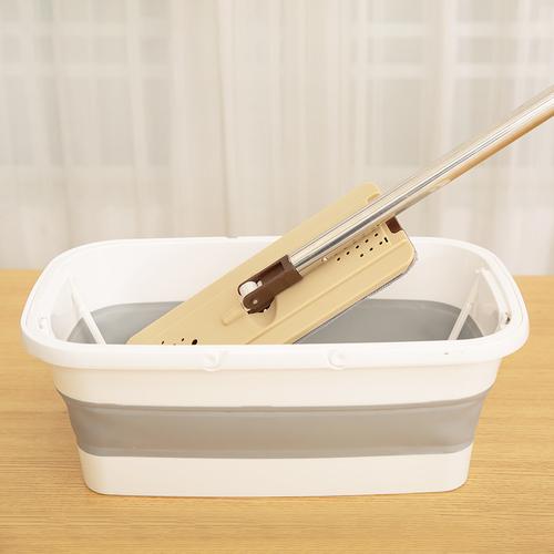 《可折疊》長方型 水桶 拖把桶 便攜式(47.6*28.4*7.7cm)