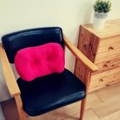 《MIT台灣製》多功能護腰枕(紅 42X24X14cm)