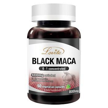 《Lovita 愛維他》濃縮黑鑽瑪卡4800mg 素食(60顆)(1瓶)買就送:長效C隨身包(3天份)