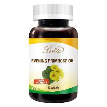 《即期良品-Lovita愛維他》月見草油 1000mg(60顆) (效期2020.08)(1瓶)買就送:長效C隨身包(3天份)