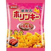 《即期2020/07/14 湖池屋》啵利吉三角脆酥-明太子口味(45g/包)