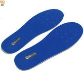 《月陽》台灣製造厚8mm乳膠通用型可裁剪透氣減震鞋墊(AB0012)(藍色)