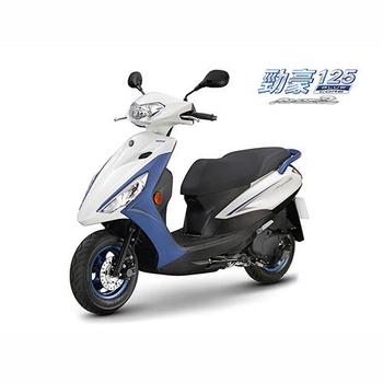 YAMAHA山葉機車 AXIS-Z 勁豪125 碟煞-日行燈版 -2020新車(白深藍)