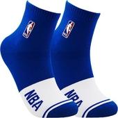 《NBA》色塊基本刺繡款襪(NSK15-296-BL)