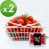 《樂活e棧》爆甜多汁-小紅帽番茄(600g/盒)(2盒)