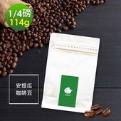 《i3KOOS》質感單品豆系列-柚香果酸-安提瓜咖啡豆(114g/袋,共1袋)