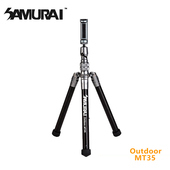 《SAMURAI》Outdoor MT35反折鋁合金腳架(附自拍棒)