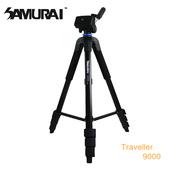 《SAMURAI》Traveller 9000攝錄影腳架(中管可當單腳架)