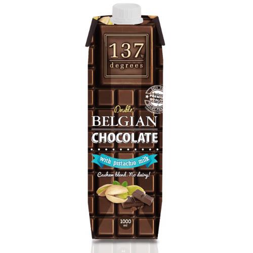 《137degrees》開心果飲-1L/瓶(特濃可可)