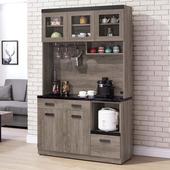 《Homelike》迪思4尺石面收納餐櫃