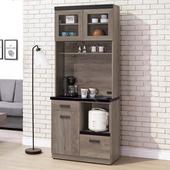 《Homelike》迪思2.7尺石面收納餐櫃
