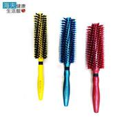 《海夫健康生活館》Masaki 瑪莎琦 紅藍黃三色 木斜紋圓梳(16/14/12排) 三入(12排*3)