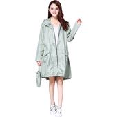 日系羽量感休閒連帽風雨衣(M (綠) 1003)