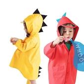 兒童防水風衣型雨衣XL 黃 $259