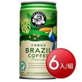 《伯朗》精品咖啡-巴西喜拉朵(240ML*6)