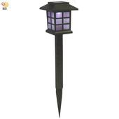 《月陽》日式七彩光太陽能自動光控LED庭園燈草坪燈插地燈(JP5025C)