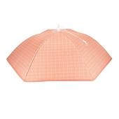 日式食物保溫罩(粉格 直徑70X高23cm±5%)