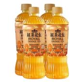 《紅茶花伝》皇家橙茶470mlx4瓶