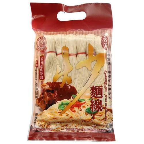 《新宏》鹿港炒麵線(600g/袋)